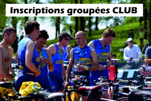 Inscriptions groupées club